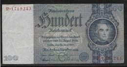 Allemagne - 100 Reichsmark - Pick N° 183 - TB - [ 3] 1918-1933 : République De Weimar