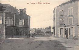 45-GIEN- PLACE DU BERRY - Gien