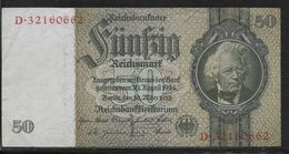 Allemagne - 50 Reichsmark - Pick N° 182 - SUP - 50 Mark