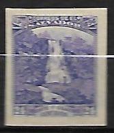 SALVADOR   -   1896 .  Y&T N° 140 (*) .  Non Dentelé.  Chutes D'eau  /  Falls - Salvador