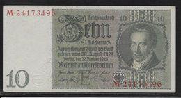 Allemagne - 10 Reichsmark - Pick N° 180 - SPL - 10 Mark