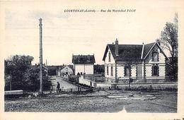 45-COURTENAY- RUE DU MARECHAL FOCH - Courtenay