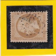 N° 21d Bistre-Brun   GC  2635  NEUILLY Sur SEINE  /  SEINE       REF 9717 - 1862 Napoleon III