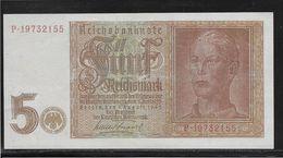 Allemagne - 5 Reichsmark - Pick N° 186 - FAUX Pour Servir - SPL - [ 4] 1933-1945 : Tercer Reich