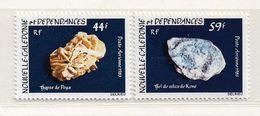 NOUVELLE CALEDONIE ( NC 145 )  1983  N° YVERT ET TELLIER  N° 227/228  N** - Poste Aérienne