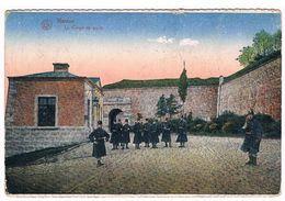 CPA : NAMUR Citadelle - Le Corps De Garde , Soldats , Militaires - Namur