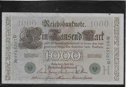 Allemagne - 1000 Mark - Pick N° 45 - SUP - [ 2] 1871-1918 : German Empire
