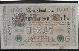 Allemagne - 1000 Mark - Pick N° 45 - TB - [ 2] 1871-1918 : German Empire