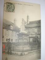 C.P.A.- Bourges (18) - Statue De Jacques Coeur - 1906 - SUP (AP 33) - Bourges