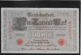 Allemagne - 1000 Mark - Pick N° 44 - SUP - [ 2] 1871-1918 : German Empire