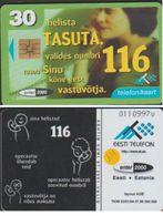 ESTONIE ET111 TASUTA NUMBRI 116 30 KR PUCE SO3 VAL   1999/07   LIRE LA SUITE - Estonia