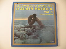 Alain Patrick, Double Album D'or, Concerto D'amour (Titres Sur Photos) - Vinyle 33 T - Instrumental