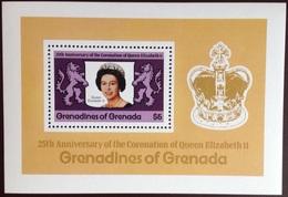 Grenada Grenadines 1978 Coronation Anniversary Minisheet MNH - Grenade (1974-...)
