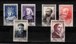 FRANCE  N° 989 à 994  Obl Cote 186€ - Frankrijk