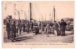 2388 - Dunkerque ( 59 ) - Vente Des Morues En Paquage De Mer - Pesage Des Poissons Sur Le Quai - B.F. à Paris - N°26 - - Dunkerque
