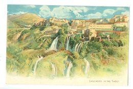 Vintage, Italy, 'Cascades In The Tivoli.' Printed Pc, Unused. - Tivoli