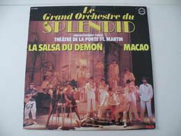 Orchestre Du Splendid Au Théâtre De La Porte ST Martin (Titres Sur Photos) - Vinyle 33 T - Humour, Cabaret