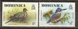 Dominique Dominica Oiseaux Birds - Dominica (1978-...)