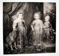 """Traumhafter Original Stich 1850 - 1890 """"Die Kinder König Karls I. Von England"""", Von Anton Van Dyck, Verlag Von >>> - Stiche & Gravuren"""