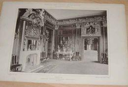 """Original Lichtdruck (48 X 32 Cm) Aus Dem Jahr Um 1885, Barock Und Rococo - Architektur Von R.DOHME """"BERLIN - Lithographien"""