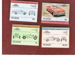 ST. LUCIA   -  SG 705.709  - 1984 CARS     -   MINT** - St.Lucia (1979-...)
