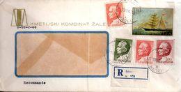 LETTRE YOUGOSLAVIE 1969    VOIR SCANS - 1945-1992 République Fédérative Populaire De Yougoslavie