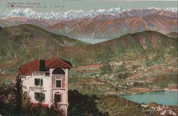 Schweiz - Monte San Salvatore - Hotel Restaurant - Ca. 1935 - TI Tessin