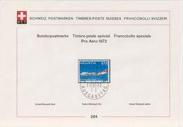 Switzerland 1972 Pro Aero 1v  ETB 264  (F7431) - Usados