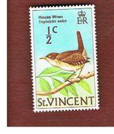 ST. VINCENT   -  SG 285  - 1970  BIRDS: HOUSE WREN   -   MINT** - St.Vincent (1979-...)