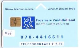 NEDERLAND CHIP TELEFOONKAART CRD-065 * BENTWOUD * Telecarte A PUCE PAYS-BAS * NL ONGEBRUIKT * MINT - Nederland