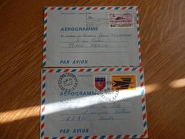 Aérogrammes - (Lot De 6 Aérogrammes) - Entiers Postaux