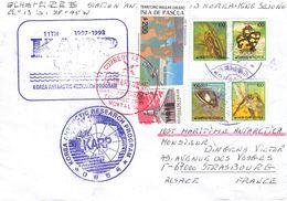 ISLA DE PASCUA - LETTER 1998 -> STRASBOURG - Rapa Nui (Easter Islands)