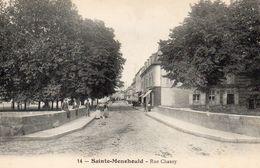 9552. MARNE 51 SAINTE-MENEHOULD. RUE CHANZY - Sainte-Menehould