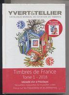 Catalogue YVERT France Tome 1 - 2018 -sous Blister - Avec Vignette Marie-Noëlle Goffin - - France