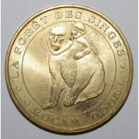 46 - LOT - ROCAMADOUR - LA FORET DES SINGES - 2007 - MONNAIE DE PARIS - - Monnaie De Paris
