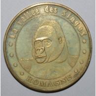 86 - VIENNE - ROMAGNE - LA VALLEE DES SINGES - GORILLE - 2007 - MONNAIE DE PARIS - - Monnaie De Paris