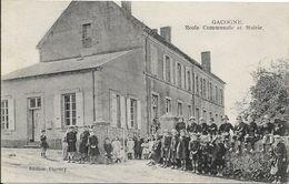 GACOGNE Ecole Communale Et Mairie - France