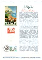1999 DOCUMENT FDC DIEPPE SEINE MARITIME - Postdokumente