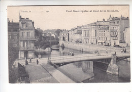 Sp- 55 - VERDUN - Pont Beaurepaire Et Quai De La Comedie - Timbre - Cachet - 1905 - Verdun
