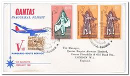 Indonesië 1962, Letter From Djakarta To London With Boeing V-Jet - Indonesië
