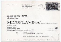 DEAR DOCTOR TYPE PUBL. MICOFLAVINA / ZAMBON - VIETNAM - HUE' LA TORRE DI CONFUCIO - Vietnam
