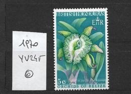 BRITISH HONDURAS 1969 Orchids Of Belize  Rhyncholaelia Digbyana - British Honduras (...-1970)