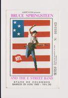Concert BRUCE SPRINGSTEEN And The E Street Band Stade De Colombes 29 Juin 1985 - Tickets De Concerts