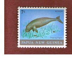 PAPA NUOVA GUINEA (PAPA NEW GUINEA)   -  SG 397  - 1980   ANIMALS: DUGONG DUGON -   MINT** - Papua Nuova Guinea