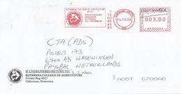 """Botswana 2006 Gaborone Pitney Bowes """"DM300"""" University Cover - Botswana (1966-...)"""