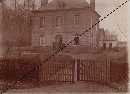 Photo 1896 Fontaine Le Bourg Seine Maritime Normandie - Luoghi