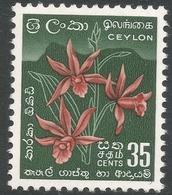 Ceylon. 1958-62 Definitives. Redrawn Inscriptions, 35c MH. SG 457 - Sri Lanka (Ceylon) (1948-...)