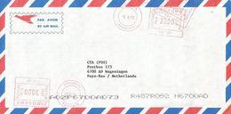 "Zimbabwe 2002 Bindura Meter Hasler ""Mailmaster"" HAS267 EMA Inflation Cover - Zimbabwe (1980-...)"