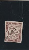 Saint Pierre Et Miquelon Taxe N* 8 Signé Calves Gomme Partielle Rare Timbre - Postage Due