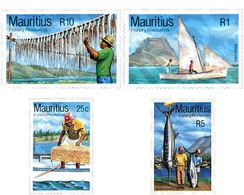 Ref. 343046 * MNH * - MAURITIUS. 1983. FISHING . PESCA - Mauritius (1968-...)